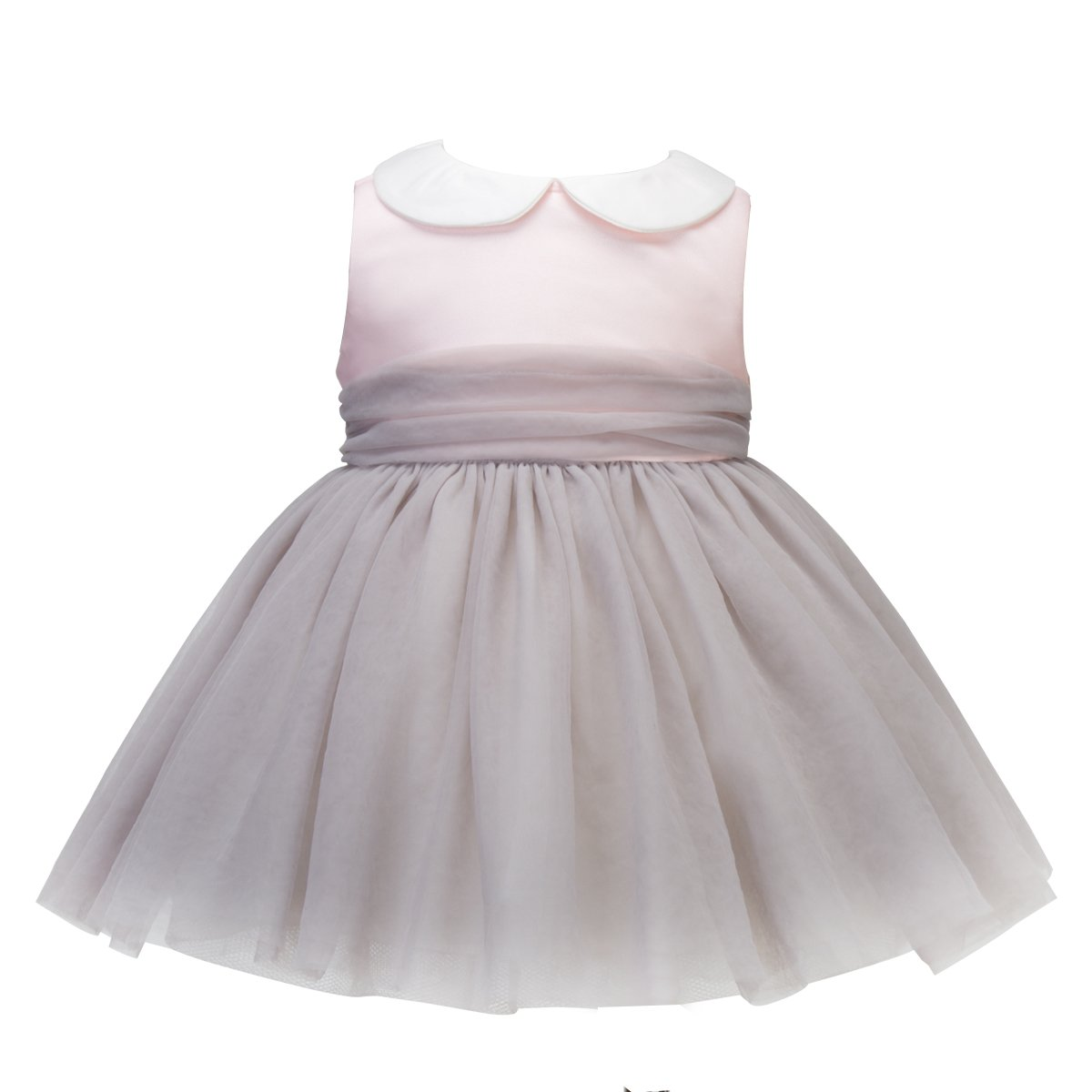 Mubenshang Toddler Dresses 3T Peach Baby Dresses 12-18 Months NB Dress for Girls Tulle Baby Dresses