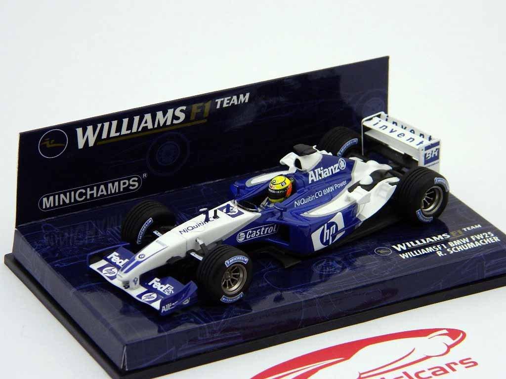 Minichamps – Polizeifahrzeugen – 400030004 – Williams F1 BMW Schumacher – 1/43
