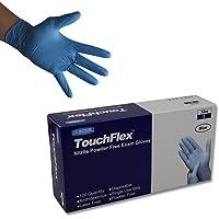 Guantes de nitrilo Touchflex N318A-00M, libres de polvo