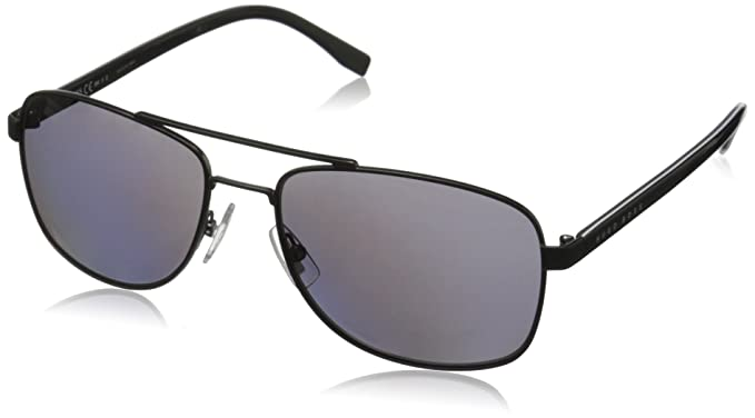 f7d288db23 Amazon.com  BOSS by Hugo Boss Men s B0762s Rectangular Sunglasses ...