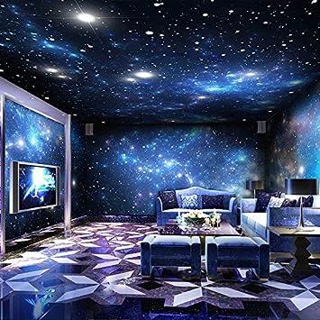 Tantoto 3d Wallpaper 3d Bar Ktv Grande Murale Cosmique Ciel Etoile