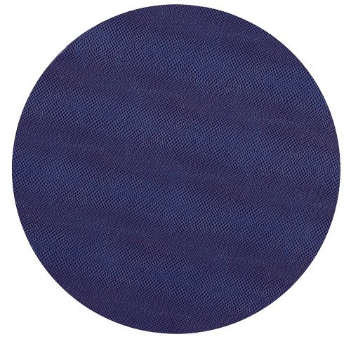 Round Placemats Table Mats Thanksgiving Placemats Placemats Faux Blue Leather Pk 6
