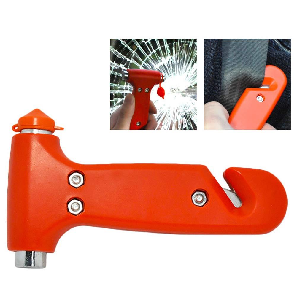 lebensrettende /Überlebensausr/üstung Notausstiegswerkzeug mit Autofenster und Sicherheitsgurtschneider lymty Auto-Sicherheitshammer