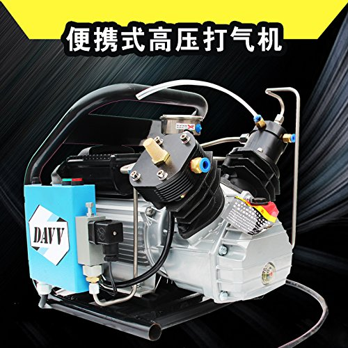 IORMAN Original 110v 300bar High Pressure Air Compressor Paintball Fill Station for PCP Game