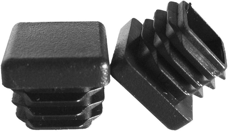 Heavy Duty Tubing Post End Cap 4-9 GA 1 Prescott Plastics 4 Inch Square Plastic Plug