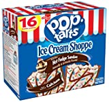 Pop-Tarts, Frosted Hot Fudge Sundae, 16-Count Tarts (Pack of 8)