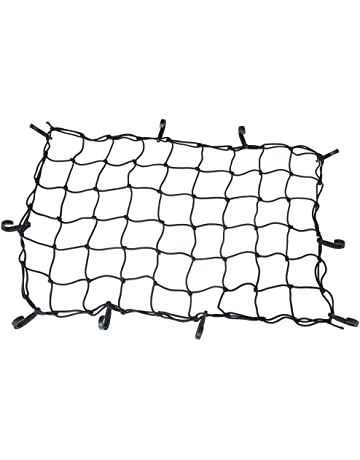 amazon tailgate nets truck bed tailgate accessories automotive 2003 Ford Crew Cab oklead cargo carrier net trunk storage anizer for car suv pickup plus mounting points size 40