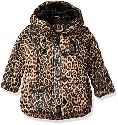 brown leopard Republic Polyfil Ur Urban Girls' Jacket B4RqfWCn
