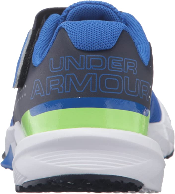 098f5594c ... Adjustable Closure Running Shoe. Under Armour Men's Pre School Primed  Adjustable Closure Sneaker, Ultra Blue (907)/. Back. Double-tap to zoom