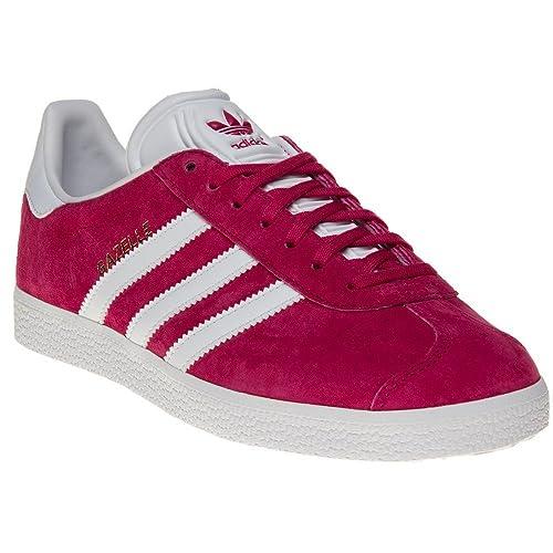 5c47a4485 Adidas Gazelle Niña Zapatillas Rosa  Amazon.es  Zapatos y complementos