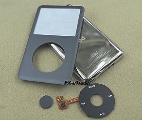 5pcs black click wheel central button key for ipod 6th gen classic 80gb 120gb