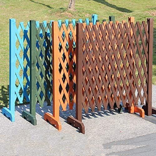 CHOUCHOU Estante de Madera expandible para jardín, Valla, Panel de ...