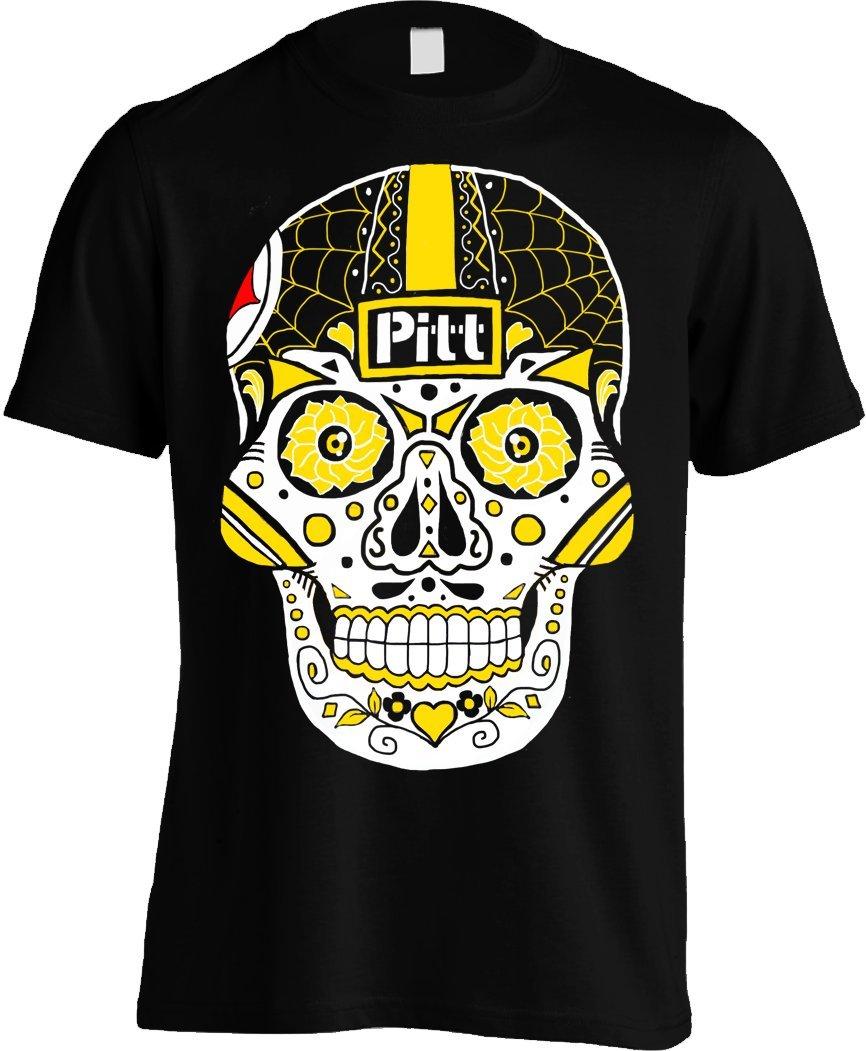 America's Finest Apparel Pittsburgh Sugar Skull Shirt - Men's (XL)