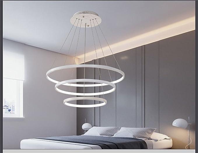 Lampadario moda bella lampadario rotondo nordico led ristorante