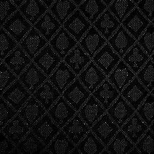 Trademark Poker 10-7770BLK Linear Yard Suited Waterproof Poker Table Cloth, Black