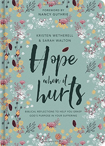 (Hope When it Hurts - Biblical reflections to help you grasp God's purpose in your suffering (Cloth over Board))