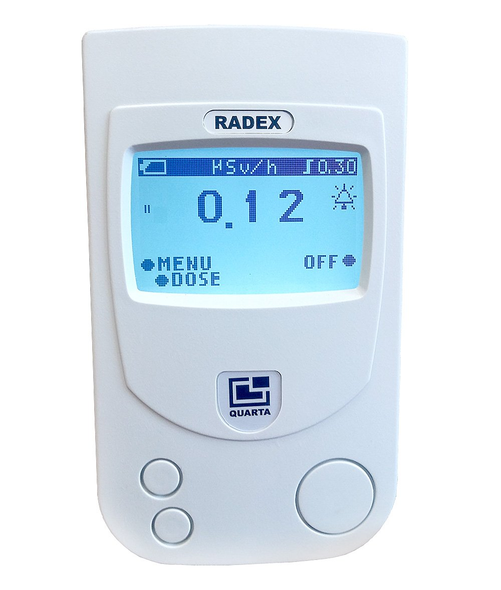 RADEX RD1503+ Safety PRO with Dosimeter: high accuracy geiger counter, radiation detector