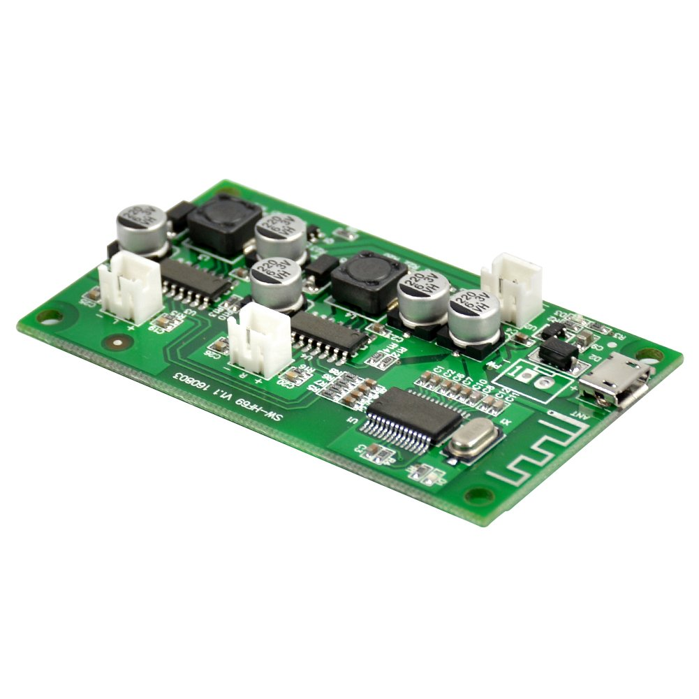 AOSHIKE Audio Bluetooth Amplifier Board 6W+6W Bluetooth Speaker Modified Plate 5V DIY Amplifier