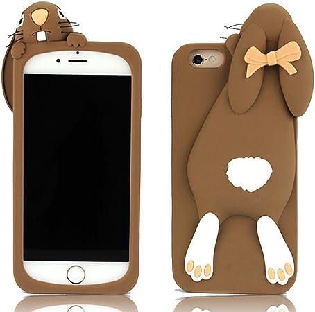 Sconosciuto iPhone in Silicone Coniglio della Cover 3D Moschino ...