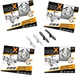 Estes Proto X Smallest Nano Quadcopter Drone 4 Pack extra Blade Replacement Set