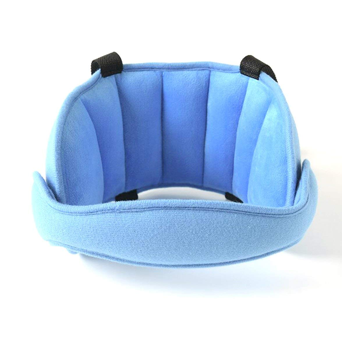 Kongqiabona Comfortable Child Seat Head Supports Baby Head Fixed Sleeping Pillow Kid Car Safety Playpen Headrest Support Pad