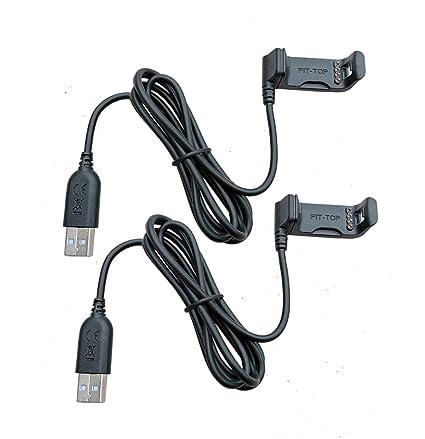 Amazon.com: (2 unidades) Cable de carga para cargador Garmin ...