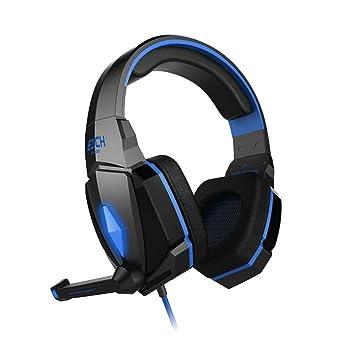 wsg Auriculares Gaming – Cascos Gaming 7.1 Auriculares para Juegos para PS4, Xbox One,