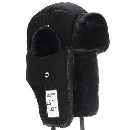 Amazon.com   mysuntown Trooper Winter Hat 48245e4a254d