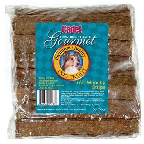 -Pack Munchy Strip for Dogs, 6.5-Inch ()