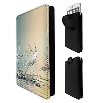 2fe66638dd ... Water Butterfly Samsung s7 edge active s8 plus note 4 5 8 J7,iphone 6 7  8 plus Google Pixel 2 XL Quality Tpu Leather Pull Tab Pouch Case Sleeve  Cover