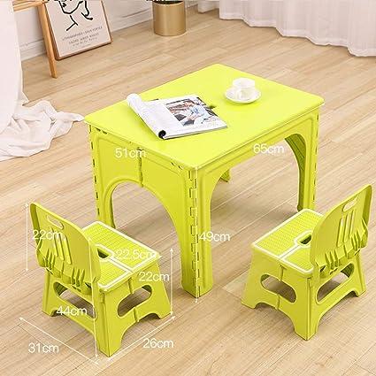 Mesa Plegable para bebé, Mesa de Comedor para niños pequeños ...