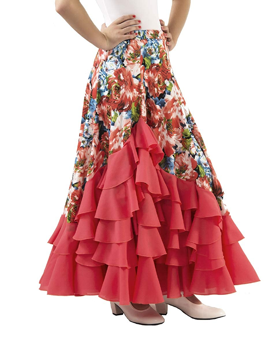 Falda de Mujer para Practicar Danza Flamenco o sevillanas. Made IN ...