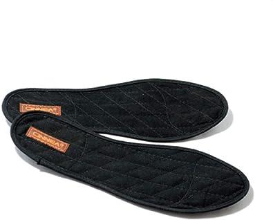41 EU Cinnea Plantillas De Canela//Canela Plantillas para Zapatos//Canela Dep/ósitos De Calzado//Canela Plantillas Negro