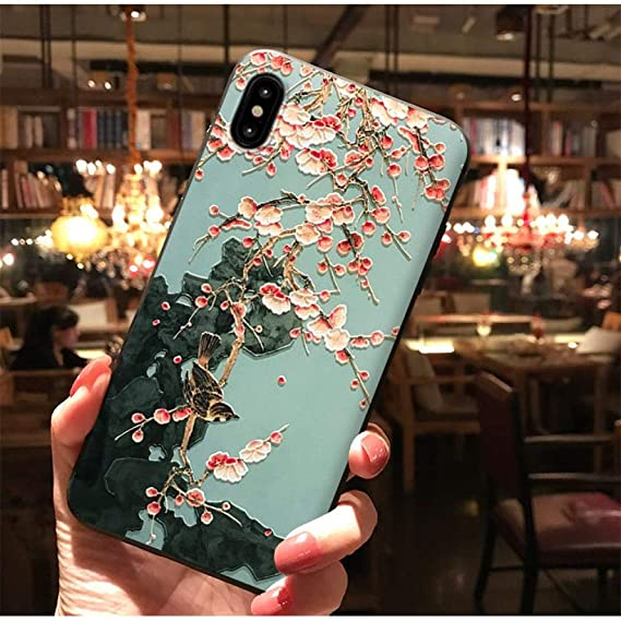 the latest ffa67 27443 Amazon.com: 3D 80s Art Eco Sky Phone Shell Cell Phone Case for ...