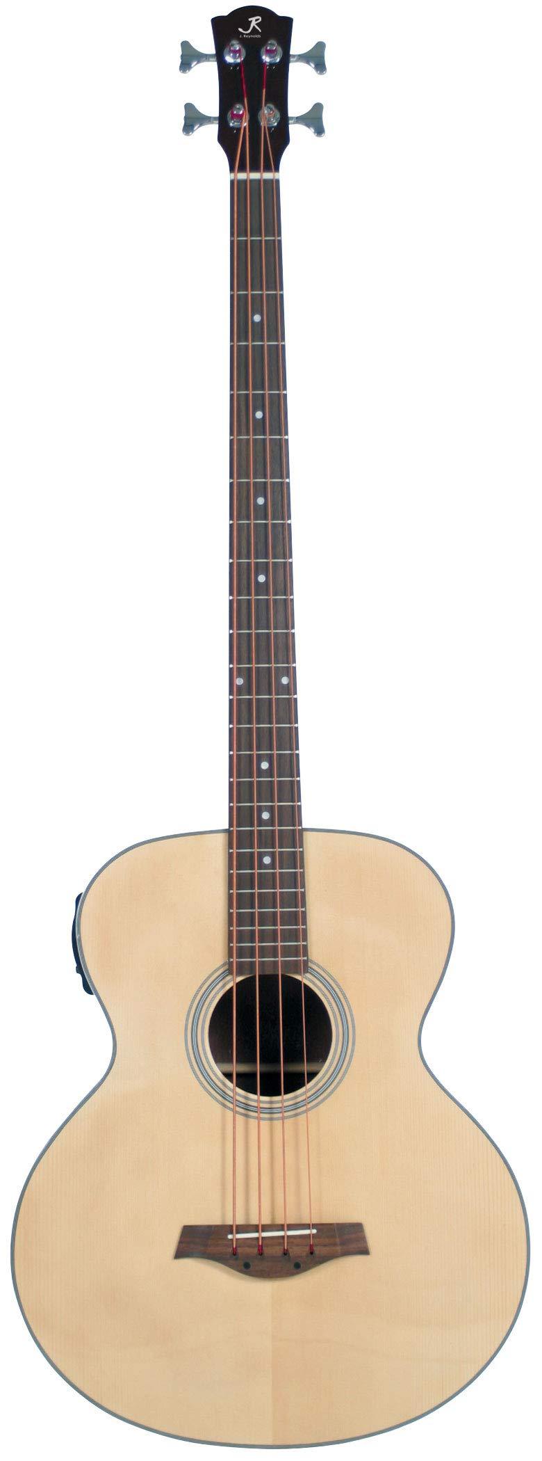 J Reynolds 4 String Acoustic Bass Guitar (JR1000-A-U)