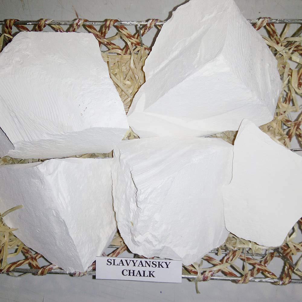 Chalk, Edible Chalk, Chalk Eating, Slavyansky, Edible Chalk, Chunks (lump) Natural for Eating (Food), 8 oz (250 g)
