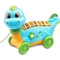LeapFrog 80-607400 Lettersaurus Alphabet Pull Along Toy,Teal