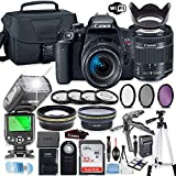Canon EOS Rebel T7i DSLR Camera Bundle with Canon EF-S 18-55mm...