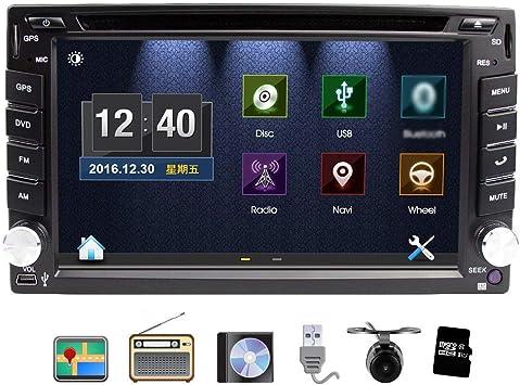 Universal Car Stereo con navegación, Eunavi 6.2 pulgadas en Dash 2 ...