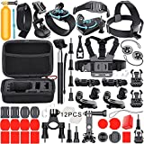 Photo : Leknes Common Outdoor Sports Bundle for SJ4000/SJ5000/SJ6000 and GoPro Hero 5/ 5 Session/4/3+/3/2/1 Cameras DBpower Akaso Xiaomi Yi Apeman Wimius