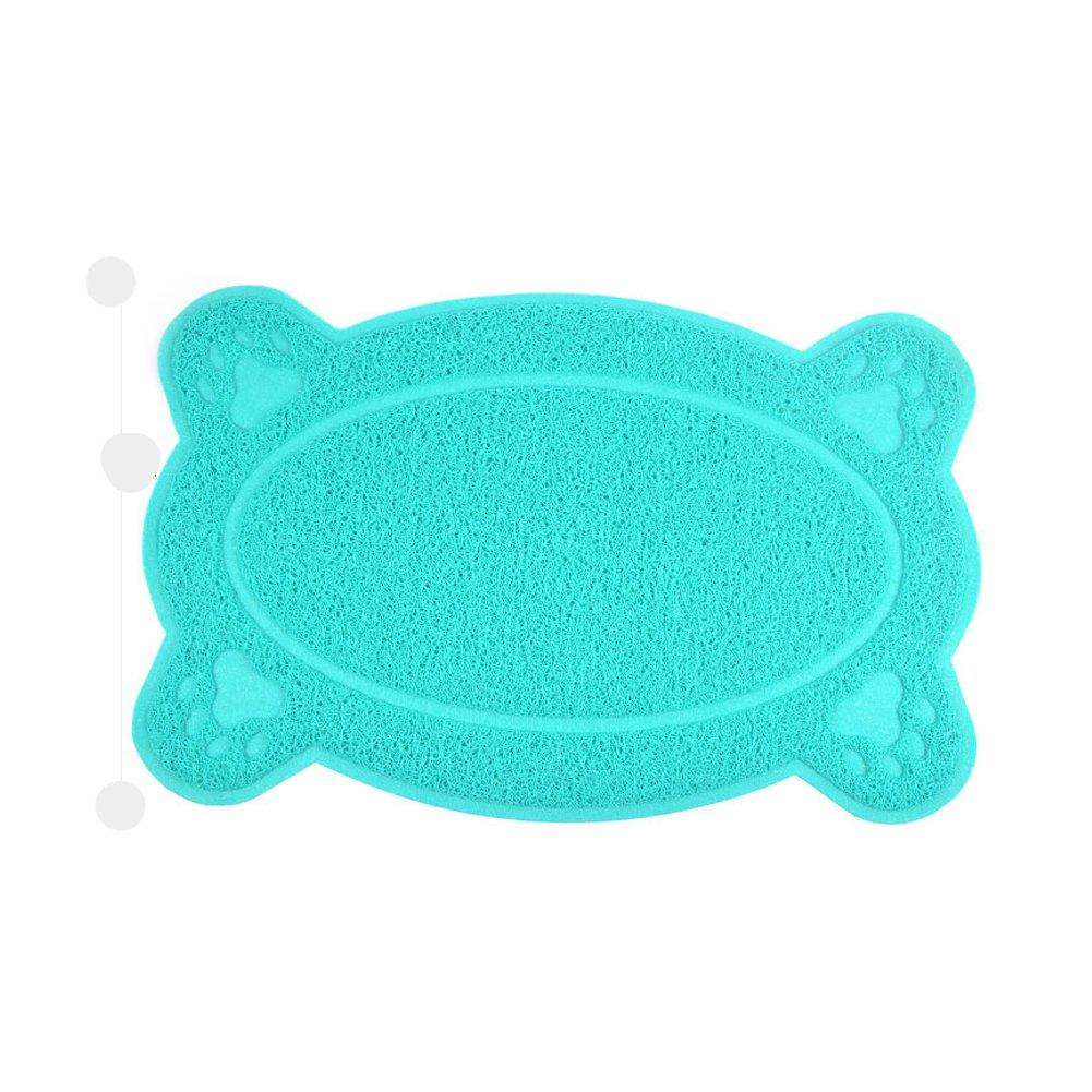 BLUESTAR perro alfombrillas para alimentos para mascotas Plato Cena Bol De Agua Mat Manta, PVC Dish Mat para Perro Gato Mascota: Amazon.es: Productos para ...