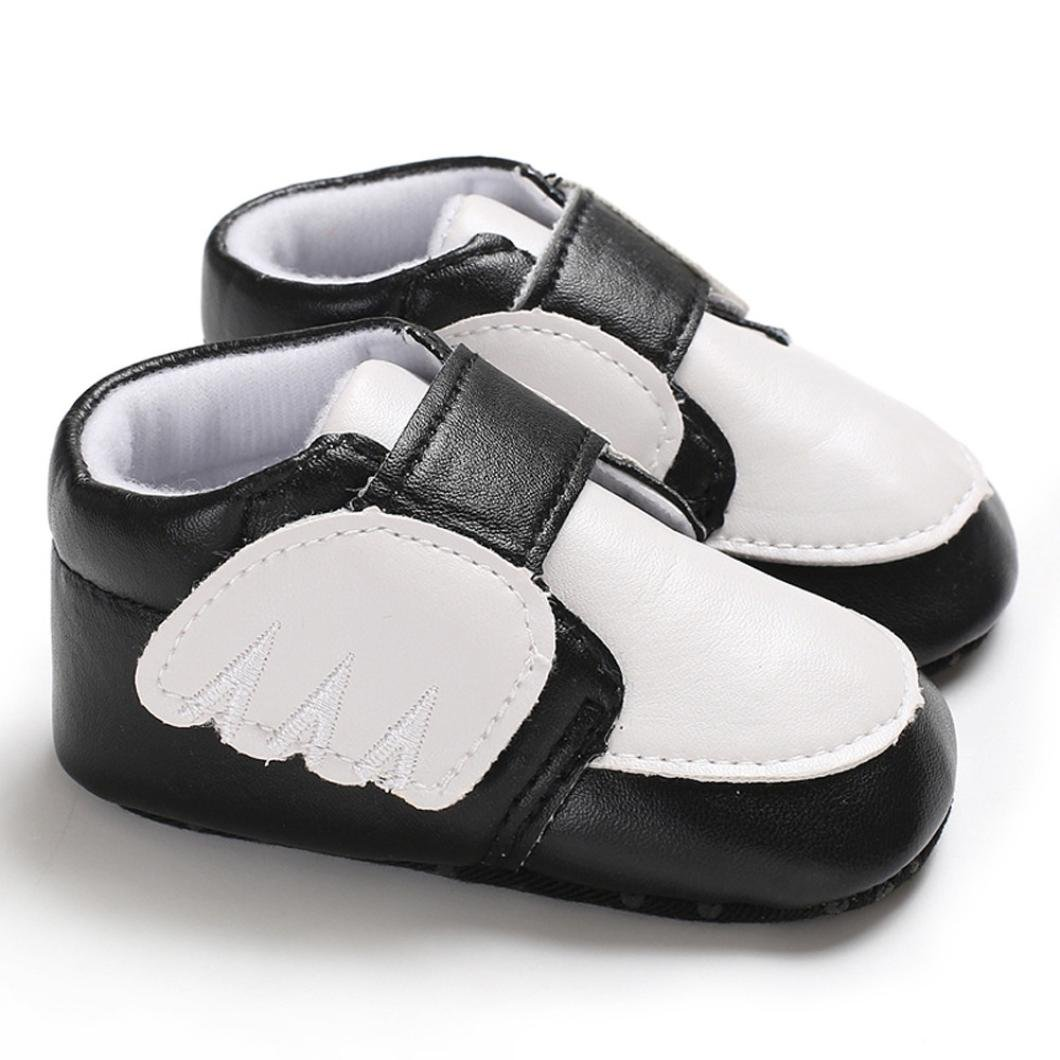 Lanhui Infant Newborn Baby Boys Girls Crib Shoes Cartoon Soft Anti-Slip Sneaker
