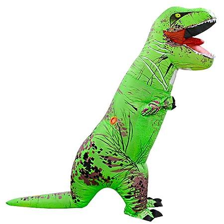Fernando Guapo - Disfraz de Dinosaurio Inflable para Adultos y niños, Disfraz de Santa Claus para Cosplay, Tyrannosaurus Rex T-Rex, 10#, Child: ...