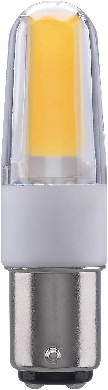 Satco s11214 LED//4W//BA15D//CL//3K//120-130V 20 Pack