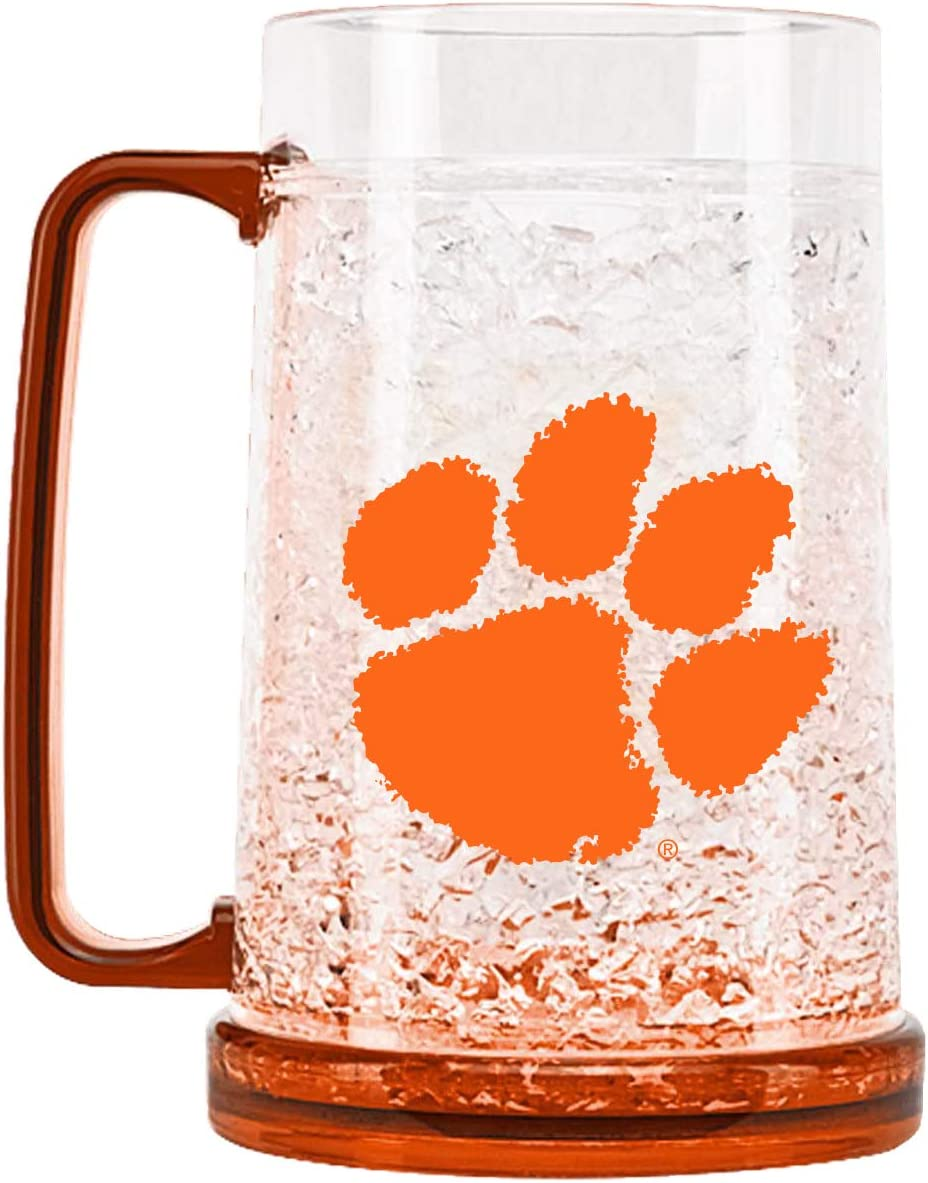 NCAA Clemson Tigers 16oz Crystal Freezer Mug