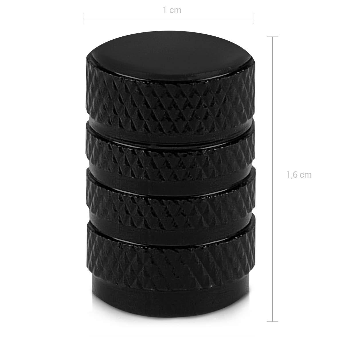 Metal Tire Valve Dust Caps for Car Set of 5 Tire Stem Car Wheel Dustproof Cap Motorcycle kwmobile 5x Valve Cap Bike