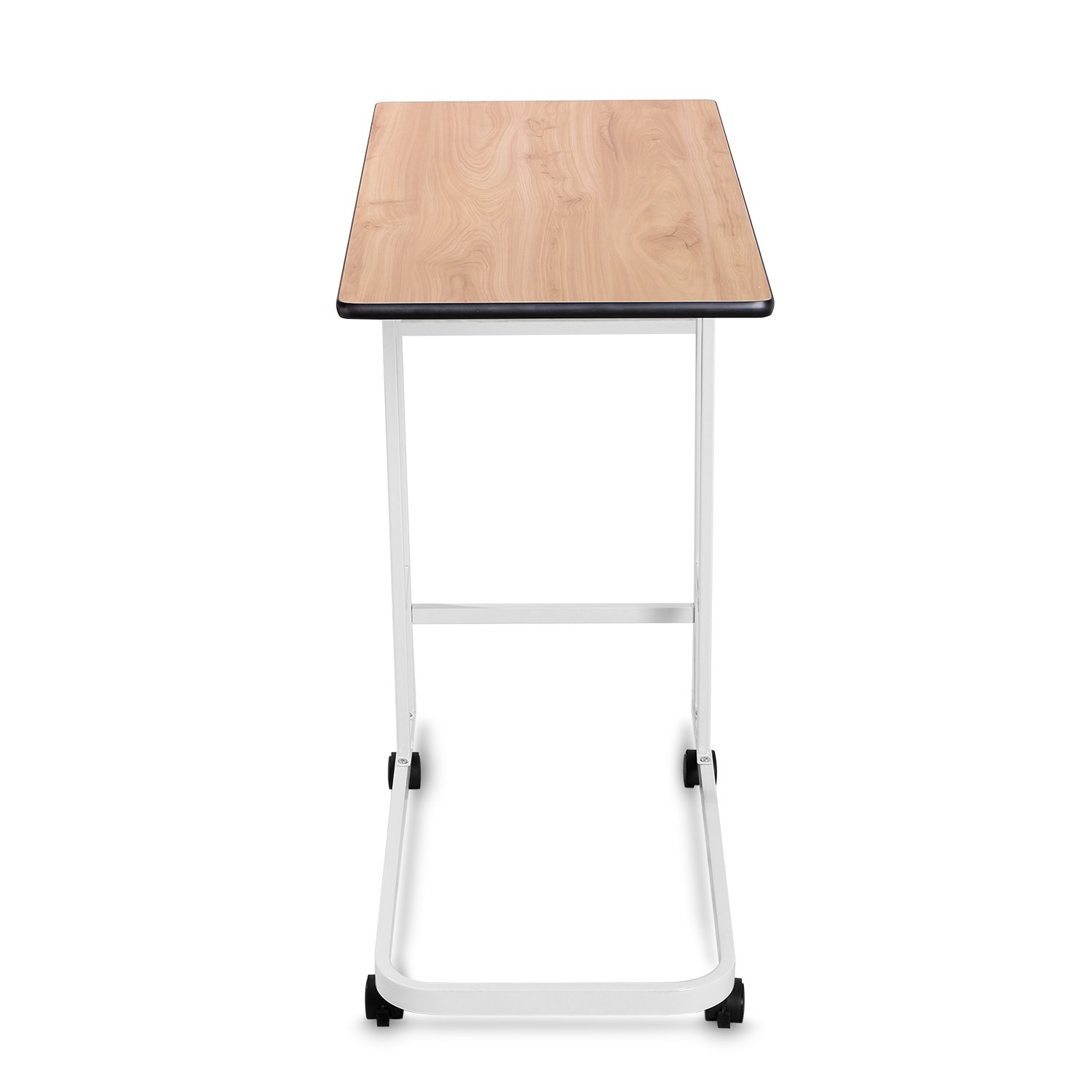 Amazon: BUREI Side Sofa Table Laptop Desk For Couch Snack Table Home  Office Furniture BUREI (Wood Grain): Kitchen & Dining