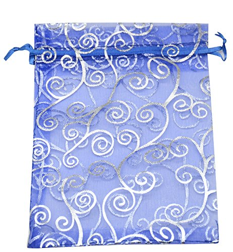 Blue Fabric Party Bags - 3