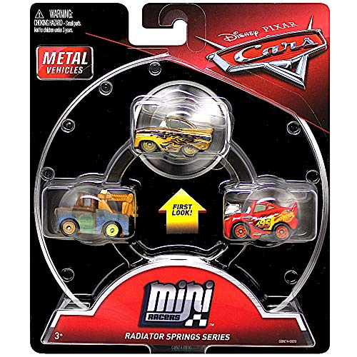 Mini Racers Radiator Springs Series Diecast 3-Pack Cars with ()
