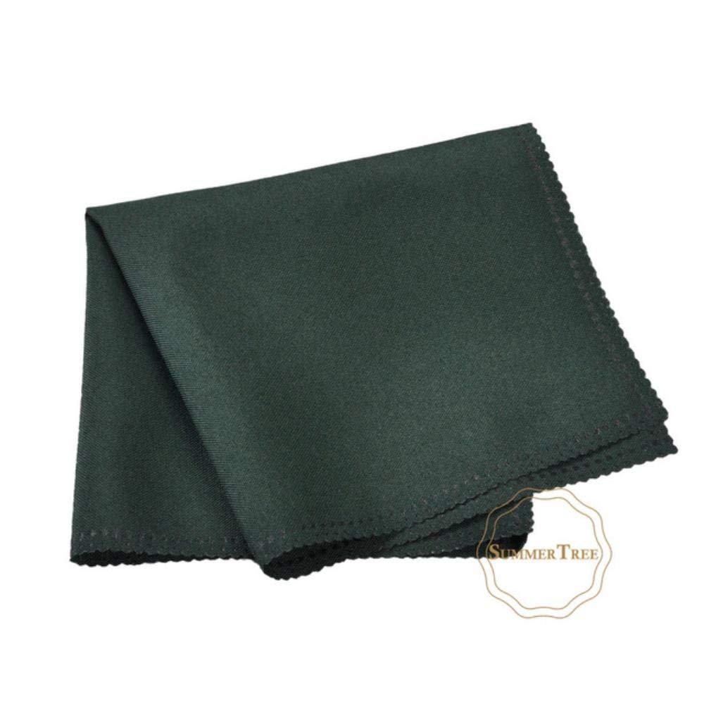 KOIYOI 10 Mouchoir en Polyester de Serviette en Lin 12X12 Chiffon Salle /à Manger f/ête de no/ël /év/énement fournir 30 cm 30 cm de Nombreuses Couleurs Brun